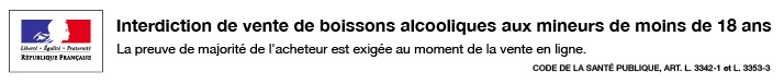 bandeau boisson alcoolique