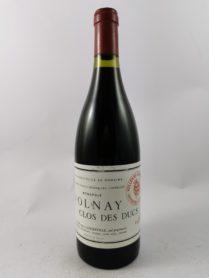 Volnay - Clos des Ducs - Domaine Marquis d'Angerville 1989